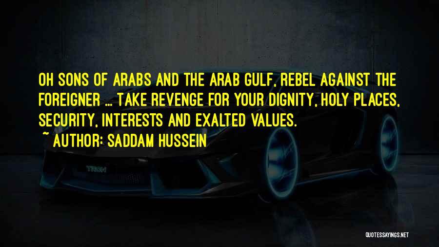 Saddam Hussein Quotes 682803