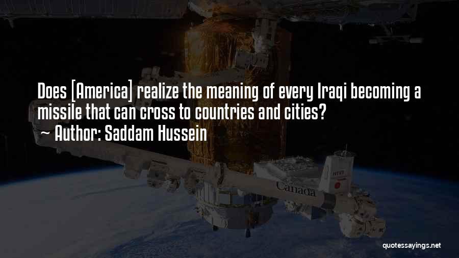 Saddam Hussein Quotes 713648