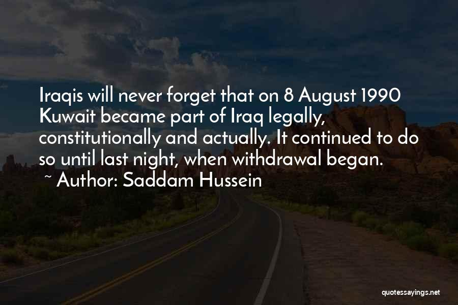 Saddam Hussein Quotes 768510