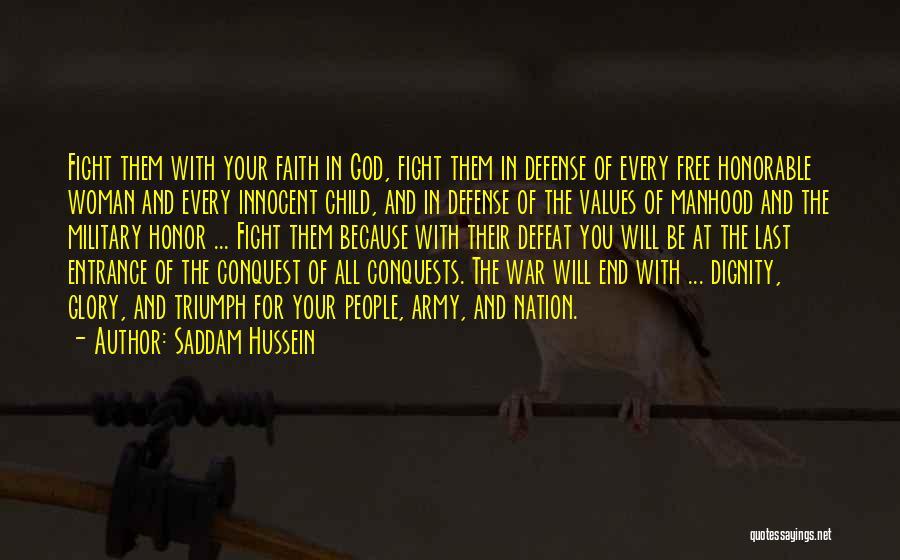 Saddam Hussein Quotes 87743