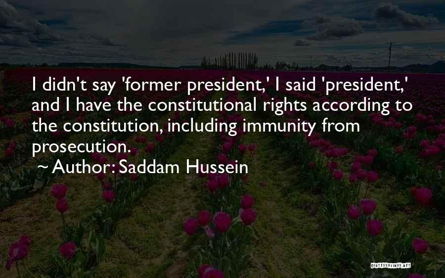 Saddam Hussein Quotes 909190
