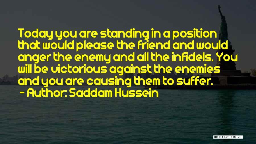 Saddam Hussein Quotes 935431