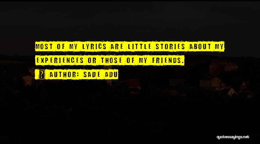 Sade Adu Quotes 433934