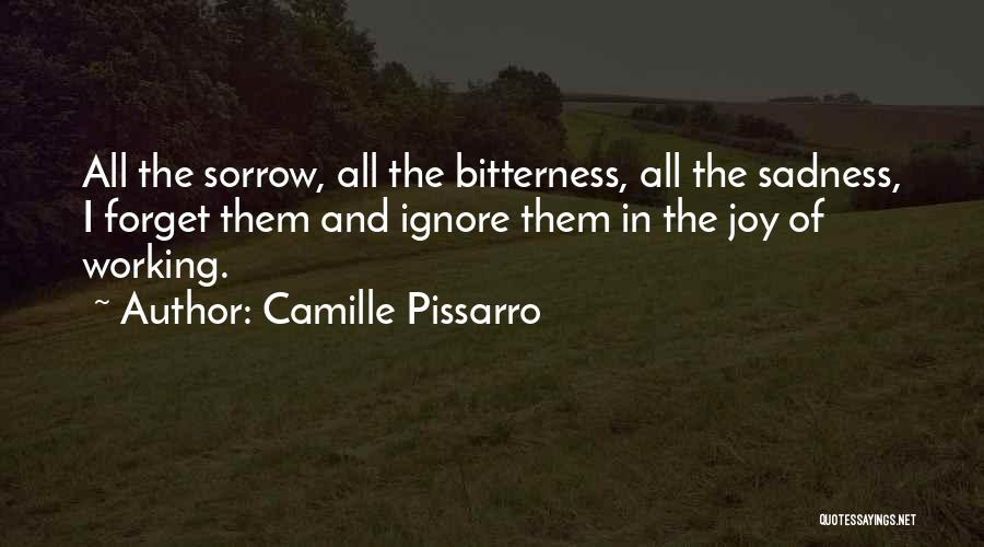 Sadness And Joy Quotes By Camille Pissarro