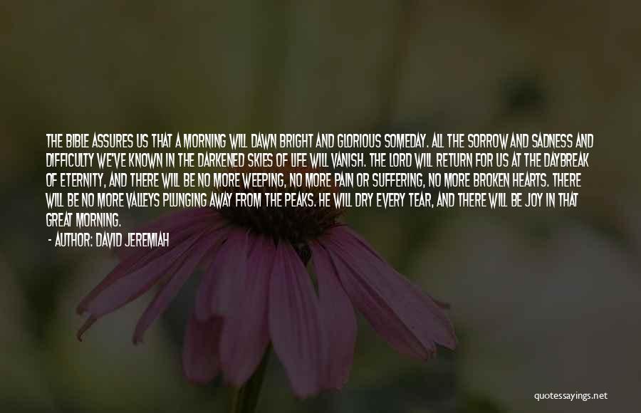 Sadness And Joy Quotes By David Jeremiah