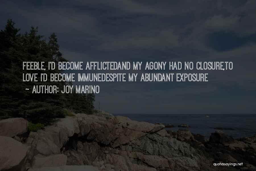 Sadness And Joy Quotes By Joy Marino