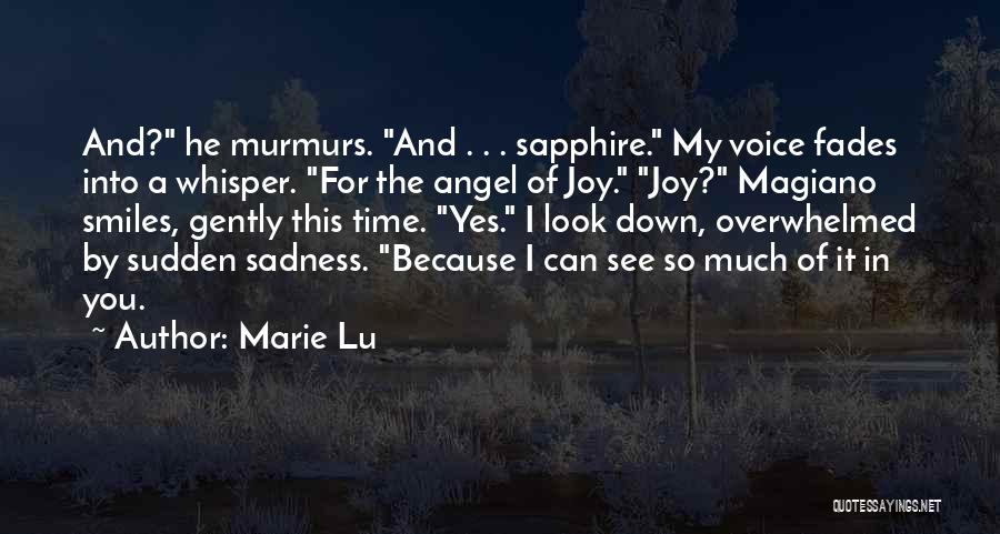 Sadness And Joy Quotes By Marie Lu
