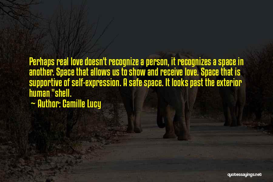 Safe Space Quotes By Camille Lucy