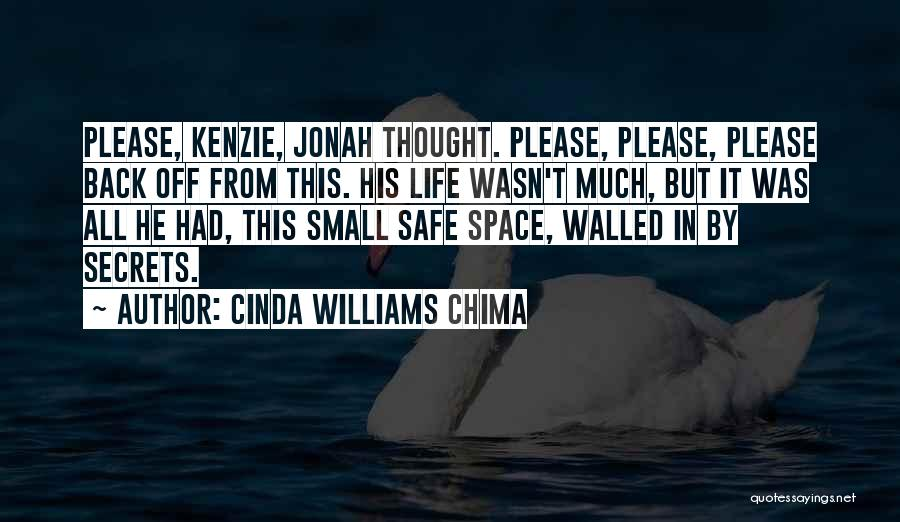 Safe Space Quotes By Cinda Williams Chima