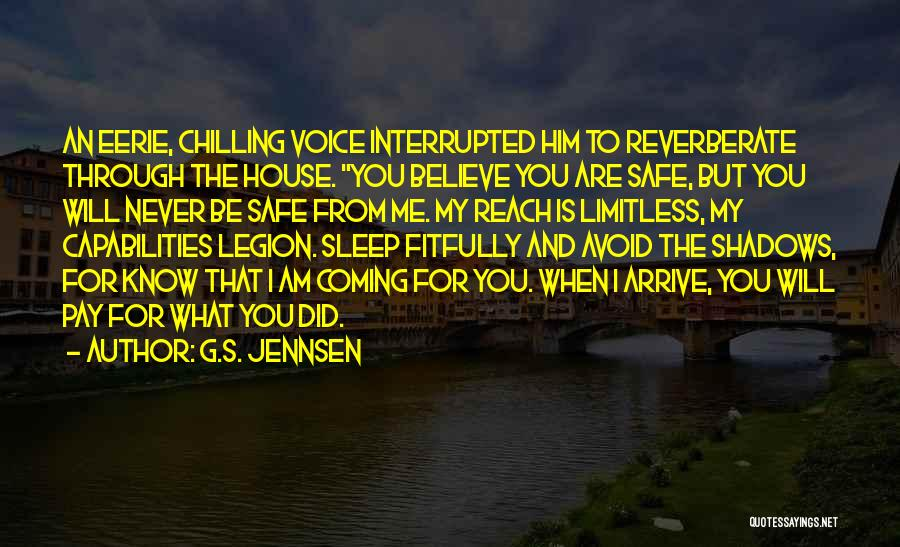 Safe Space Quotes By G.S. Jennsen