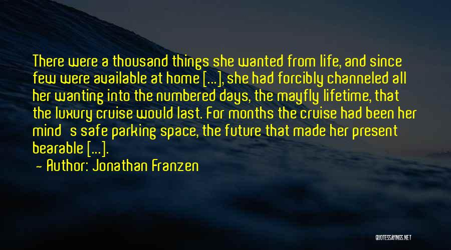 Safe Space Quotes By Jonathan Franzen