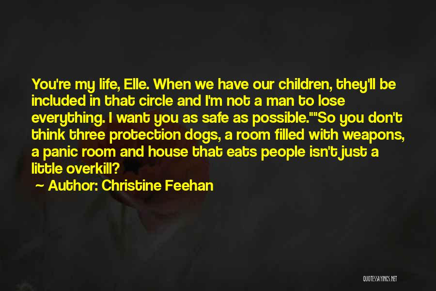 Safety And Protection Quotes By Christine Feehan