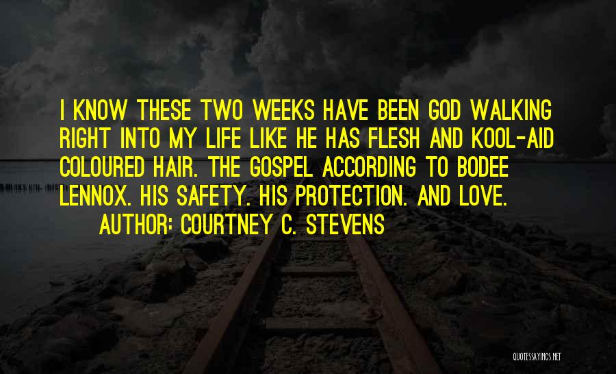 Safety And Protection Quotes By Courtney C. Stevens