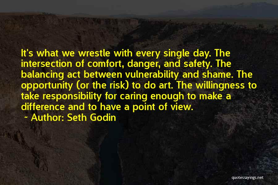 Safety And Risk Quotes By Seth Godin