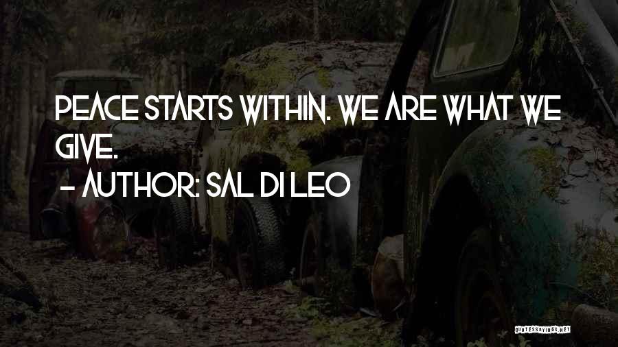 Sal Di Leo Quotes 2211077