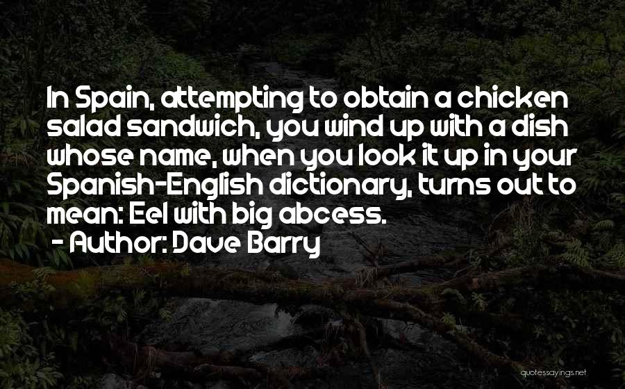 Salad Quotes By Dave Barry