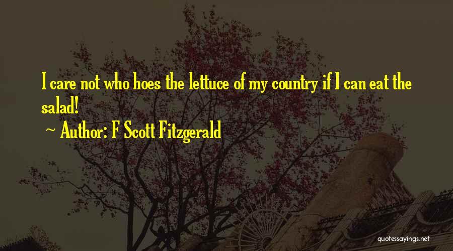 Salad Quotes By F Scott Fitzgerald