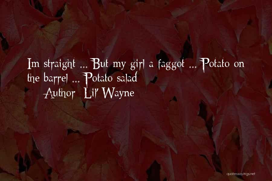 Salad Quotes By Lil' Wayne