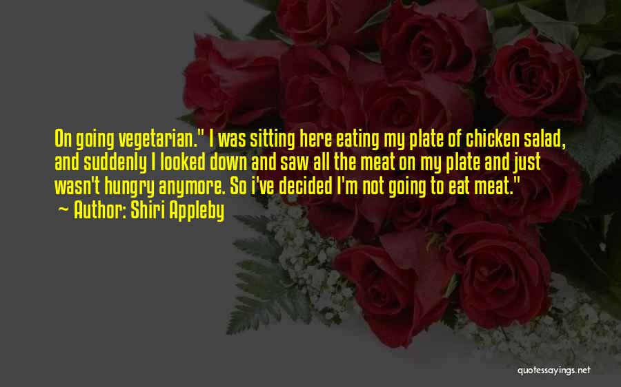 Salad Quotes By Shiri Appleby