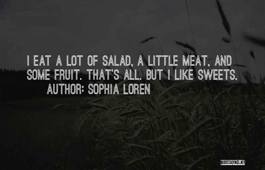 Salad Quotes By Sophia Loren