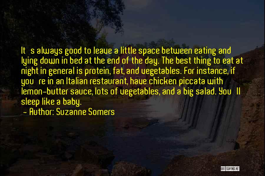 Salad Quotes By Suzanne Somers