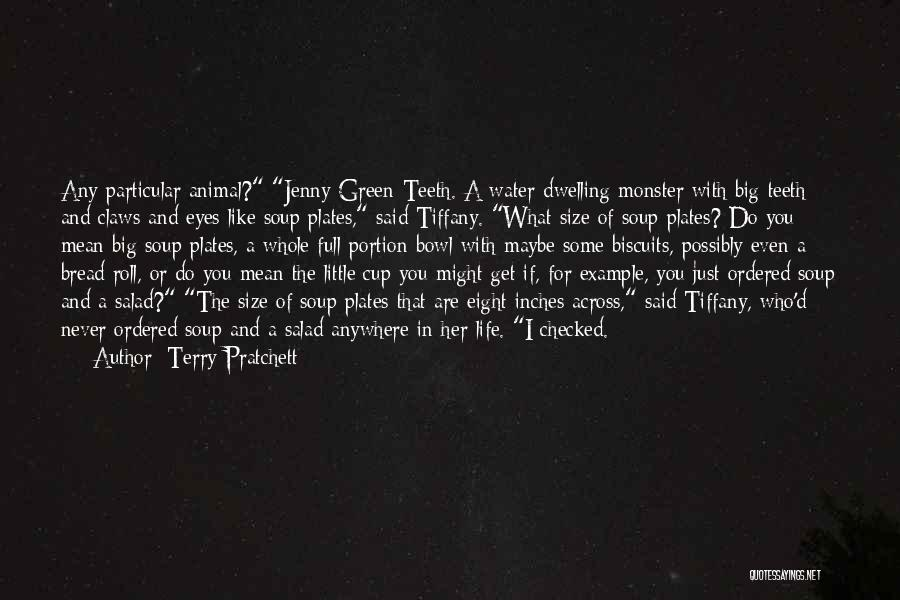 Salad Quotes By Terry Pratchett
