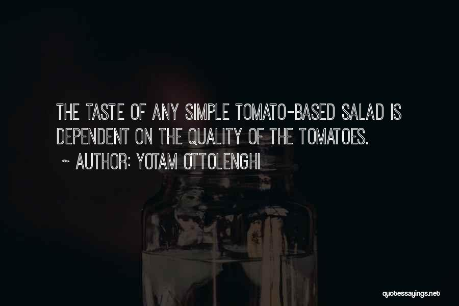 Salad Quotes By Yotam Ottolenghi