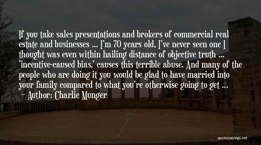 Sales Incentive Quotes By Charlie Munger