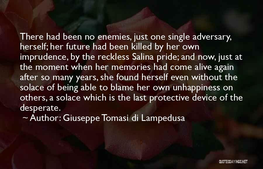 Salina Quotes By Giuseppe Tomasi Di Lampedusa