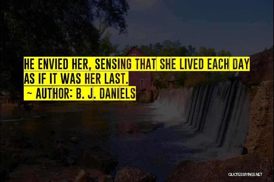 Saloon Quotes By B. J. Daniels