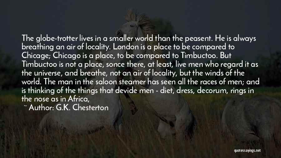 Saloon Quotes By G.K. Chesterton