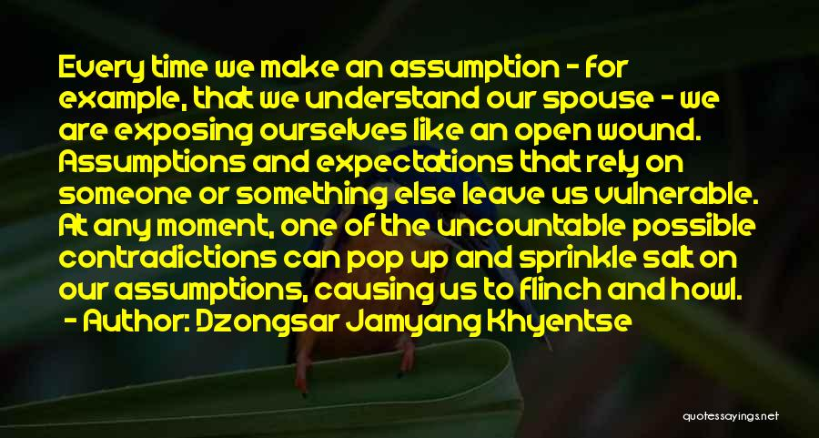 Salt On Wound Quotes By Dzongsar Jamyang Khyentse