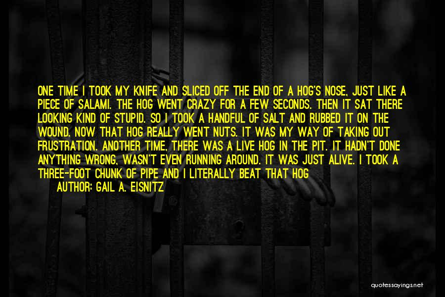 Salt On Wound Quotes By Gail A. Eisnitz