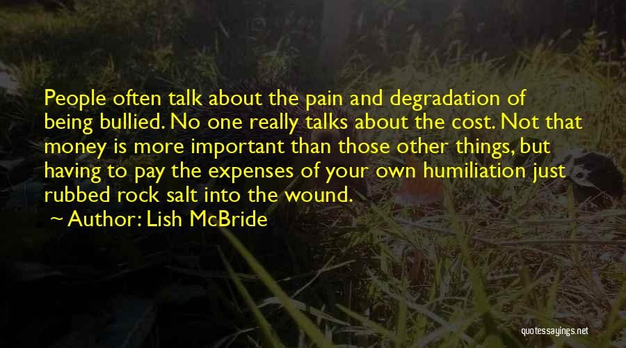 Salt On Wound Quotes By Lish McBride