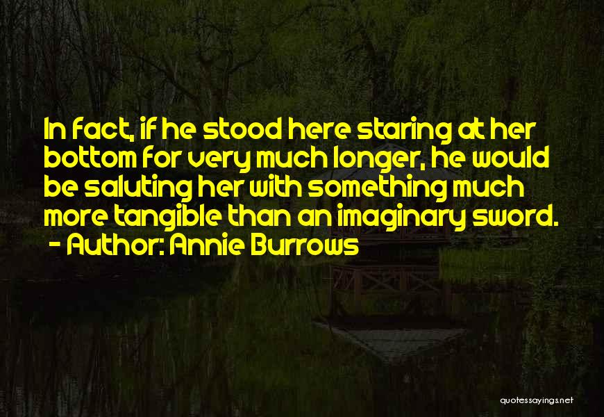 Saluting Quotes By Annie Burrows
