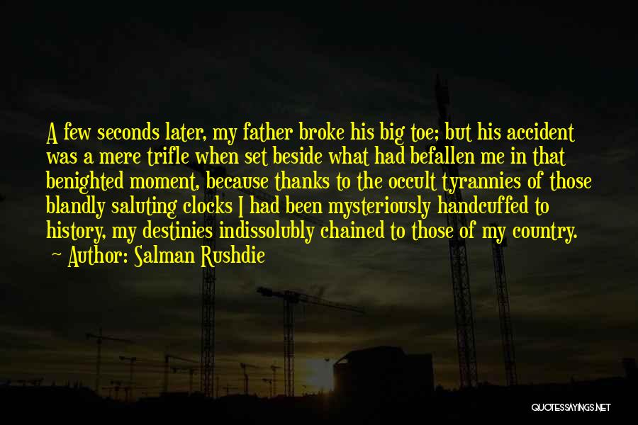 Saluting Quotes By Salman Rushdie