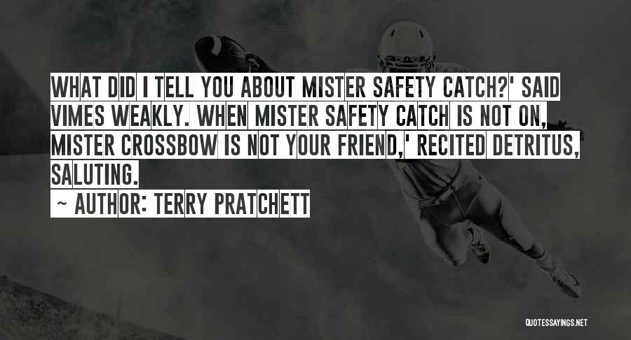 Saluting Quotes By Terry Pratchett