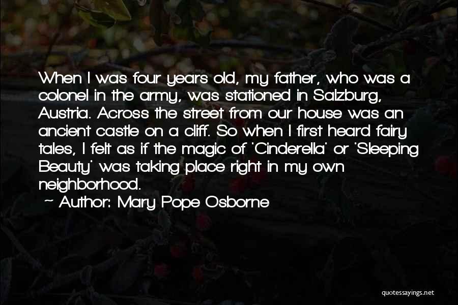 Salzburg Austria Quotes By Mary Pope Osborne