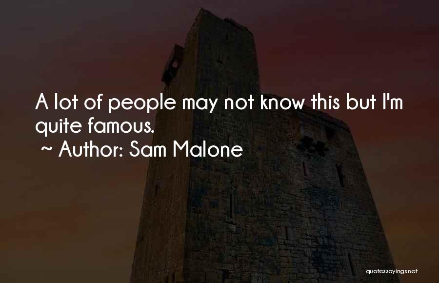 Sam Malone Quotes 2084304