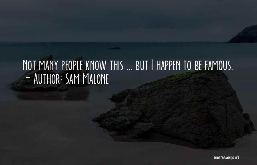 Sam Malone Quotes 265510