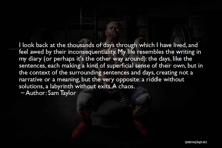 Sam Taylor Quotes 469444