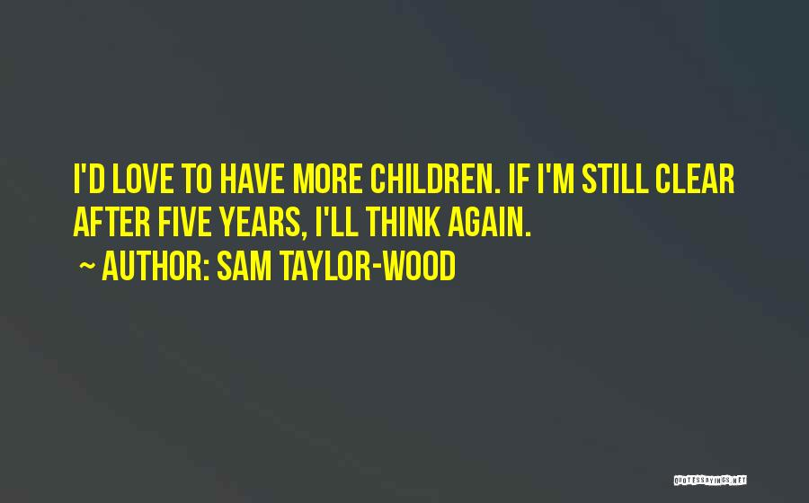 Sam Taylor-Wood Quotes 1660785