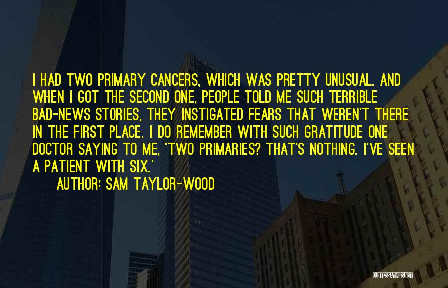 Sam Taylor-Wood Quotes 219647
