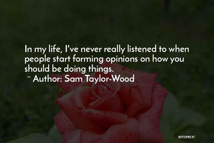 Sam Taylor-Wood Quotes 2221564