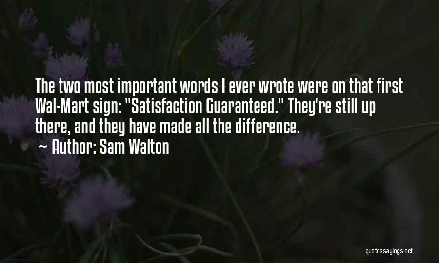 Sam Walton Quotes 1236833