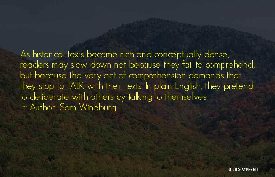 Sam Wineburg Quotes 98463