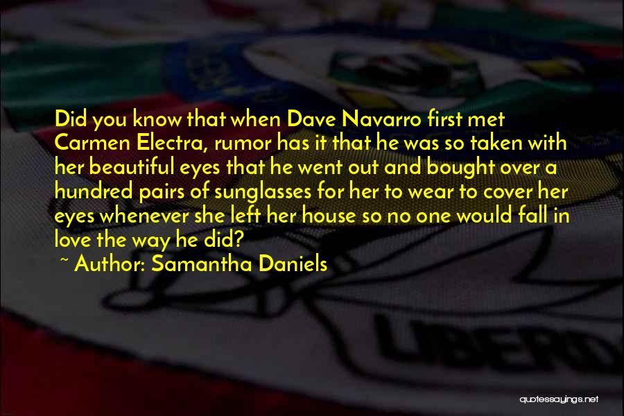 Samantha Daniels Quotes 1847789