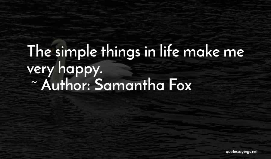 Samantha Fox Quotes 1498023