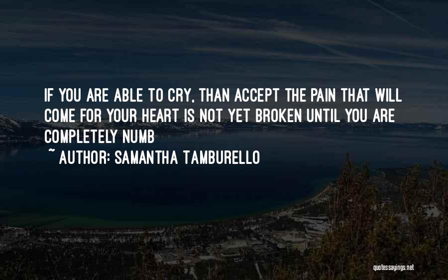 Samantha Tamburello Quotes 2124262