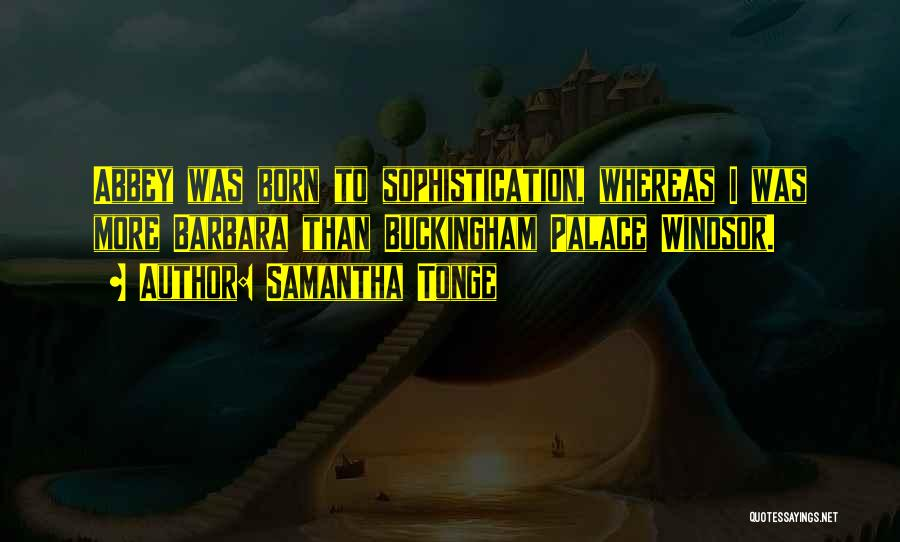 Samantha Tonge Quotes 91794